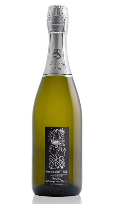 2017 Bubbly Sauvignon Blanc By Vicarage Lane Wines In New Zealand